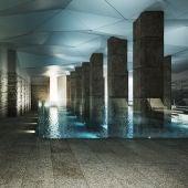 O Concello completará a rehabilitación da Praza de Abastos coa construción dunha piscina termal