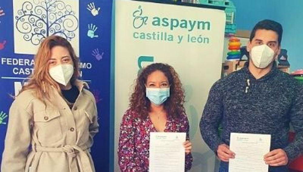 ASPAYM Castilla y León y Mundo Azul Palencia, unidos por la discapacidad