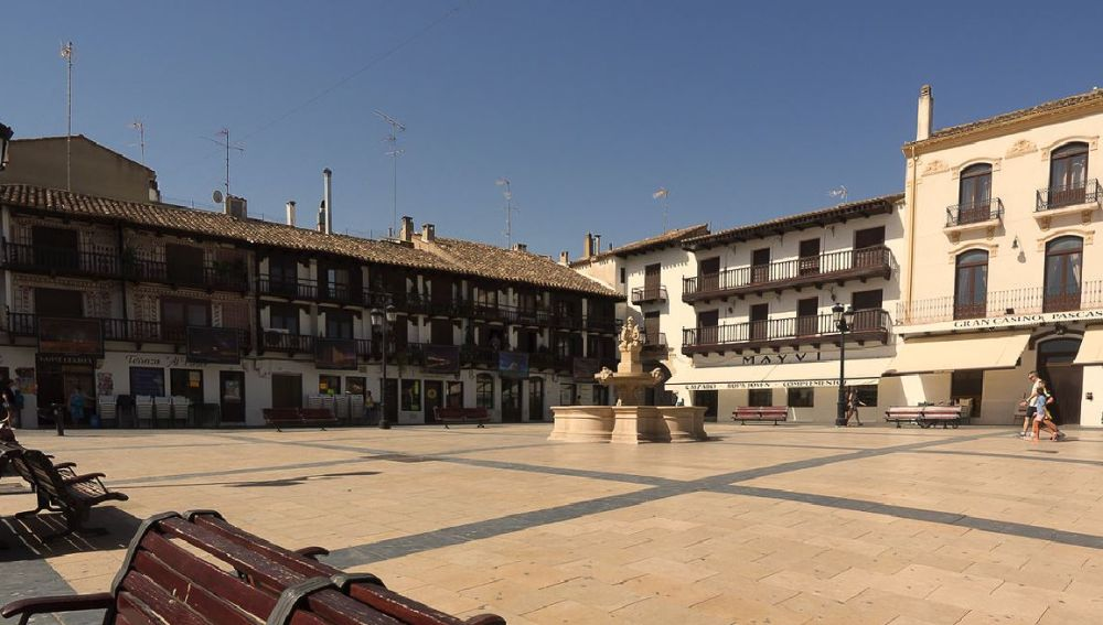 Plaza de Tarazona de la Mancha