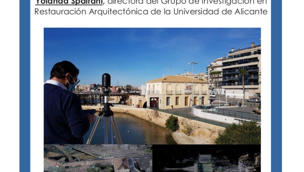 """La charla, organizada por la Sede Universitaria de Torrevieja de la UA y el Instituto Municipal de Cultura """"Joaquín Chapaprieta"""", trata sobre la conservación del patrimonio edificado"""