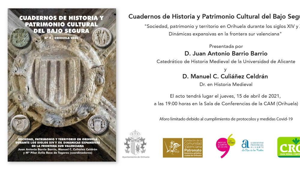 """""""Sociedad, patrimonio y territorio en Orihuela durante los siglos XIV Y XV. Dinámicas expansivas en la frontera sur valenciana"""""""