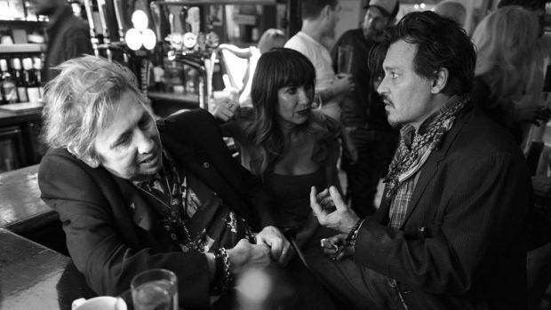 Fotograma de la película documental 'Crock of gold: Bebiendo con Shane MacGowan'