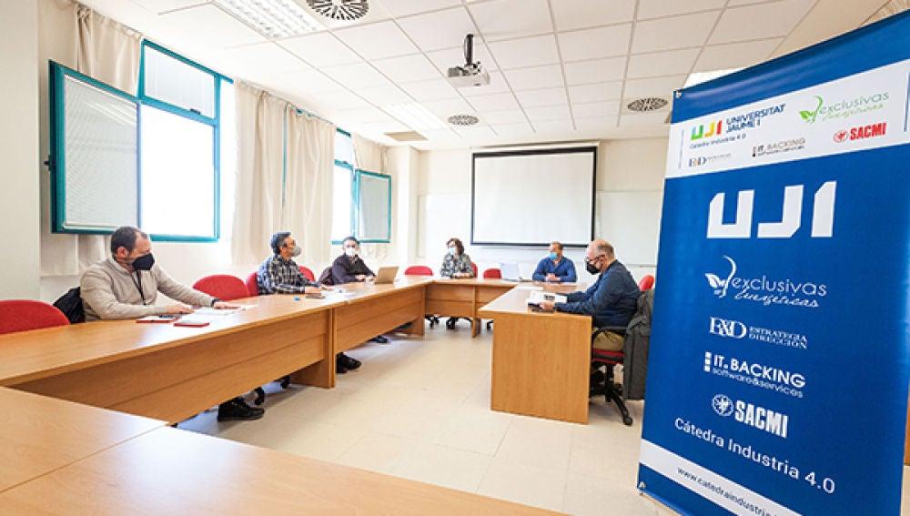 La Cátedra Industria 4.0 de la UJI promoverá y liderará proyectos de digitalización, gestión y eficiencia energética en empresas industriales