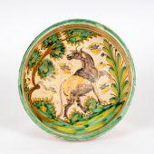Plato de cerámica de Talavera de la Reina