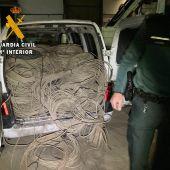 Robo de 400 kilos de cobre en La Espina