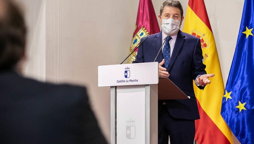 Emiliano García-Page, presidente de CLM
