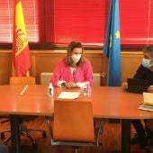 Reunión en el Ayuntamiento de Ponga