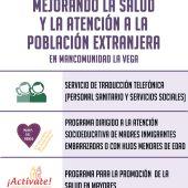 Con la implantación de un novedoso sistema de traducción a 18 idiomas para personal sanitario y de servicios sociales