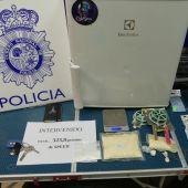 Desmantelan en Huesca un punto de venta de speed en un trastero