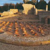Parque arqueológico de la ciudad romana de Complutum, en Alcalá de Henares