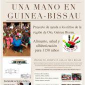 """""""este proyecto solidario enmarcado en Guinea-Bissau, implica sobre todo la alfabetización y educación de los niños y niñas"""""""
