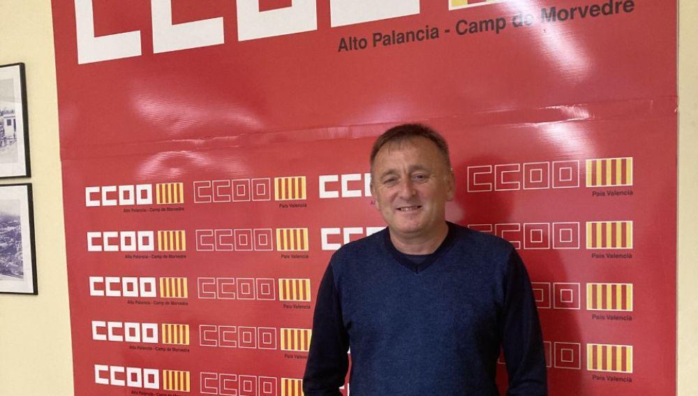 Sergio Villaba es desde hoy Secretario General de CCOO en el Camp de Morvedre
