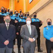 Nuevos mandos de la policía municipal