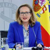 Nadia Calviño, vicepresidenta y ministra de Asuntos Económicos y para la Transformación Digital