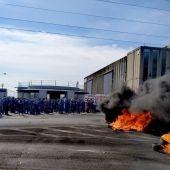 Protesta en Airbus en Puerto Real