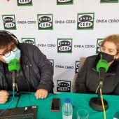 Mandy Pérez y Jaime Álvarez, en San Fernand