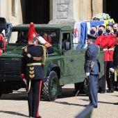 La familia real británica da su último adiós al duque de Edimburgo