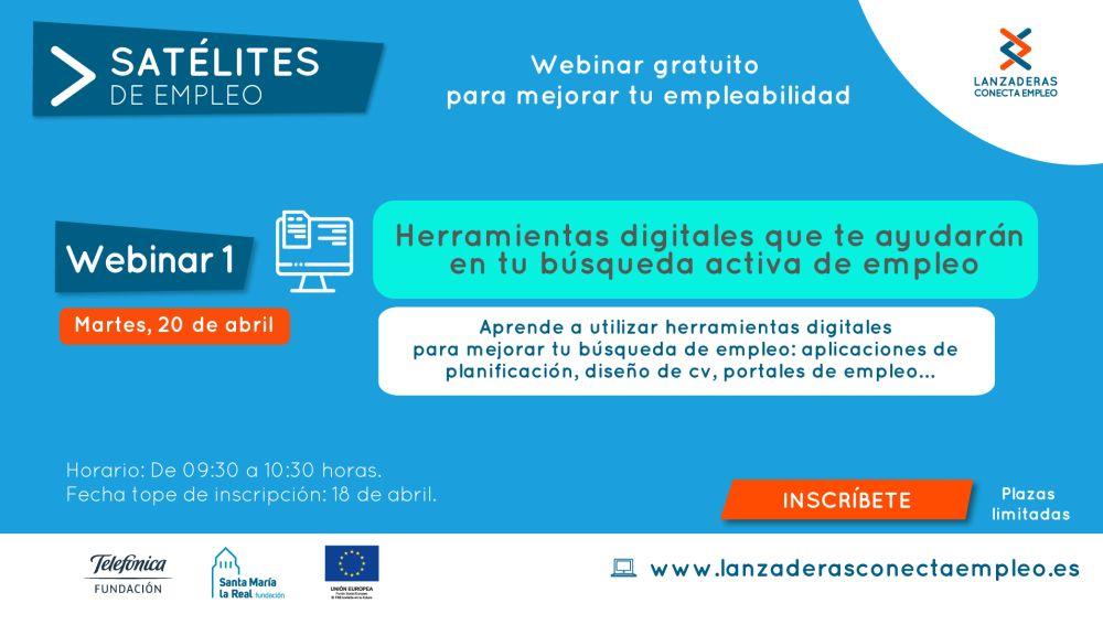 Nuevos webinars gratuitos 'Satélites de Empleo' para Talavera