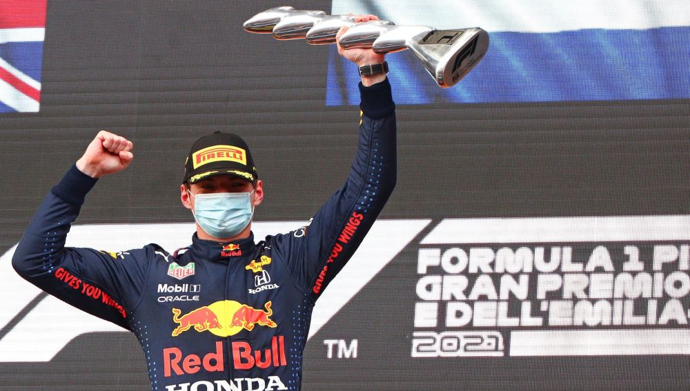 Verstappen gana en Imola con Sainz quinto y Alonso undécimo