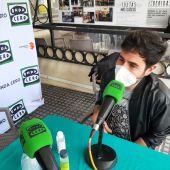 Juan José Alba, durante la entrevista en Más de Uno