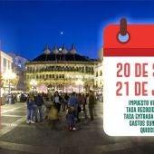 El martes comienza el calendario tributario en Ciudad Real