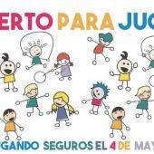 Cartel Abierto para Jugar Alcalá de Henares