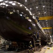La Familia Real presidirá el jueves la ceremonia de puesta a flote del submarino S-81 en Cartagena
