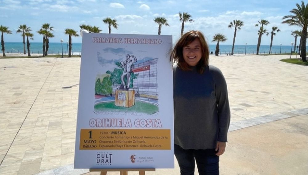 El sábado 1 de mayo la Orquesta Sinfónica de Orihuela (OSO) ofrecerá un concierto en homenaje al poeta Miguel Hernández en la explanada de Playa Flamenca, en Orihuela Costa