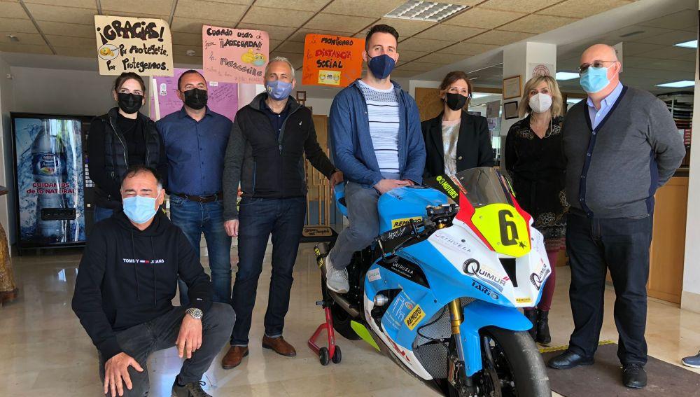 Nuevo proyecto en el que se embarca el centro educativo que consiste en la preparación y modificación de una moto Kawasaki para la participación en el campeonato de Superbike