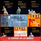 La historia de San Jorge llega desde hoy a los barrios de Cáceres