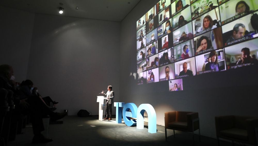 Carlos Mazón en la presentación del plan TEN