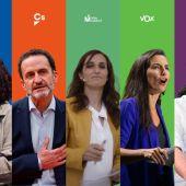 Estos son los partidos que se presentan a las elecciones en Madrid: lista completa de candidaturas