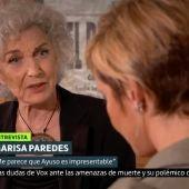 Los duros calificativos que Marisa Paredes ha dedicado a Isabel Díaz Ayuso