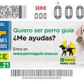 Cupón especial de la ONCE por el Día Internacional del Perro Guía.