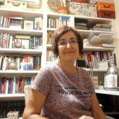 Mª José Herreros ofrece una charla sobre las palabras del a pandemia