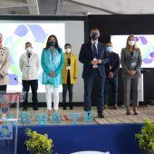 Inauguración de las jornadas de economía azul en Barbate