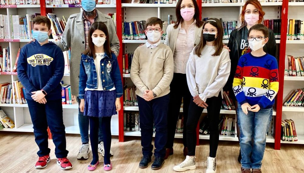 """Entregados los premios del Certamen Literario Infantil """"Reinventa tu Quijote"""""""