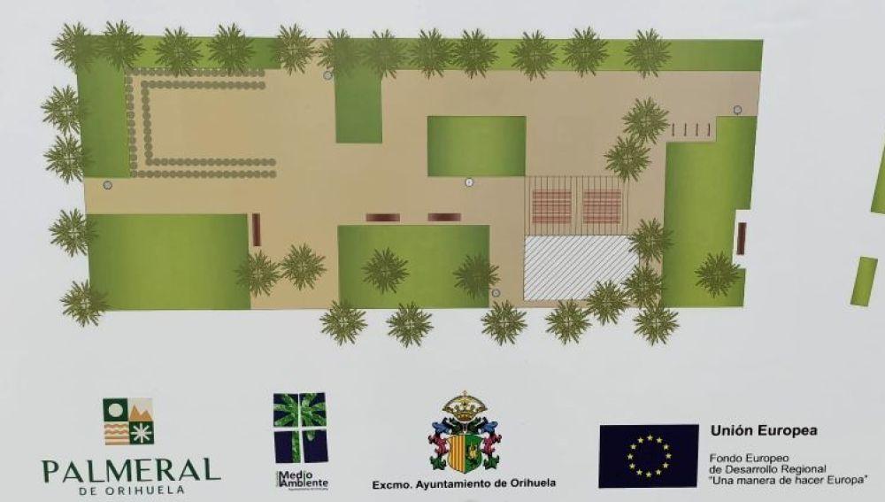 El proyecto ha sido presentado por el concejal de Medio Ambiente, Dámaso Aparicio, quien ha anunciado que hoy lunes se procederá a la firma del acta de replanteo