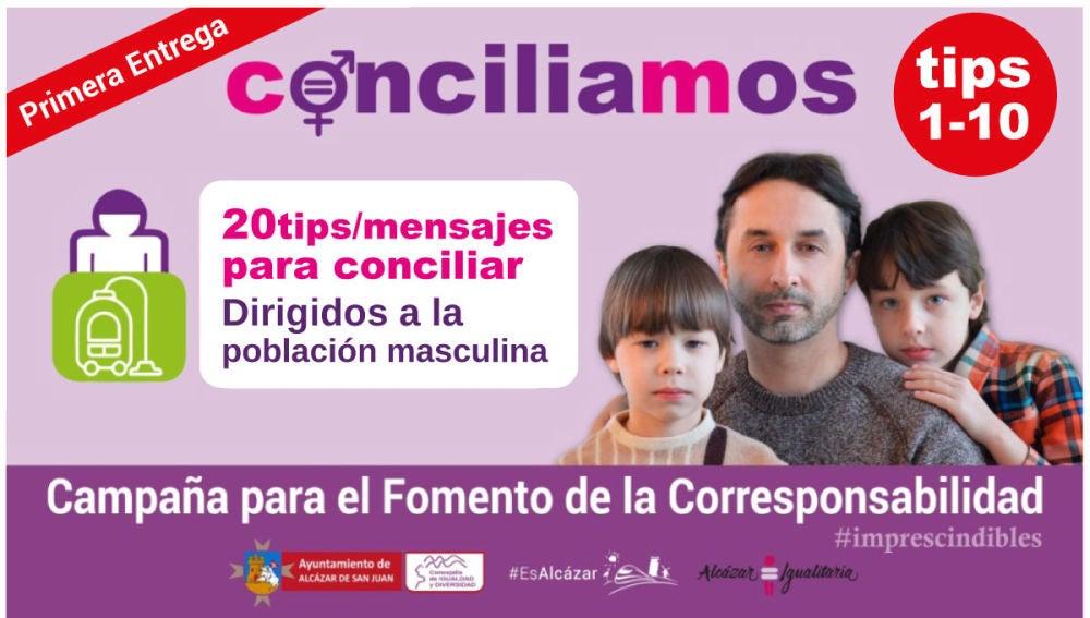 """El Centro de la Mujer pone en marcha la segunda parte de la campaña """"Conciliamos"""""""