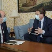 Ximo Puig y Miquel Iceta