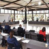 Pleno del Ayuntamiento de Elche en el centro cívico de Candalix.