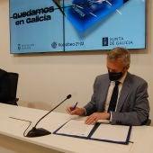Xunta e Deputación firman un convenio para cofinanciar a tarxeta Bono Comercio
