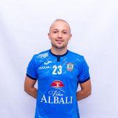 Nano, jugador del Viña Albali Fútbol Sala Valdepeñas
