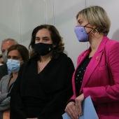 Ada Colau i Alba Vergés han impulsat la candidatura de Barcelona per acollir l'Agència Europea d'Emergències Sanitàries.