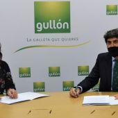 Galletas Gullón entregará anualmente, al menos, 10 toneladas de alimentos al Banco de Alimentos de Palencia