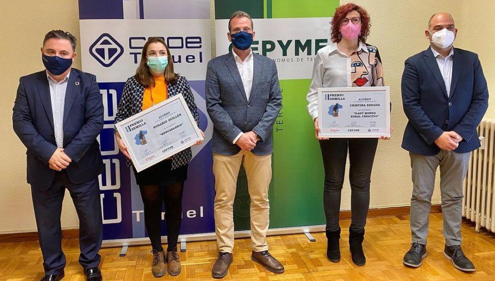 Entrega de los accésit del Premio Semilla 2020
