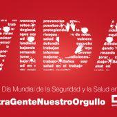 CCOO se concentra este miércoles en Badajoz con motivo del Día Mundial de la Seguridad y Salud en el Trabajo