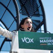 Rocío Monasterio, candidata de Vox a la Comunidad de Madrid