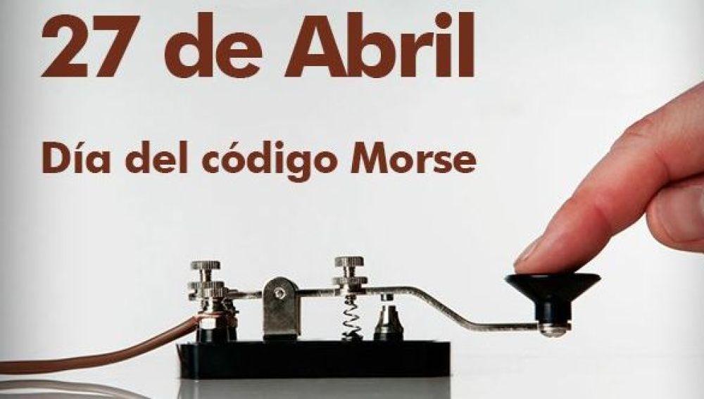El código morse, también conocido como alfabeto morse o clave morse, es un sistema de representación de letras y números mediante señales emitidas de forma intermitente