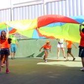 Activitat en una casal de la Fundació Pere Tarrés durant el passat estiu.